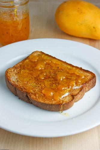 Mango and Cardamom Jam