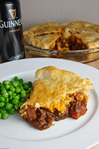 Steak and Guinness Pie - Closet Cooking