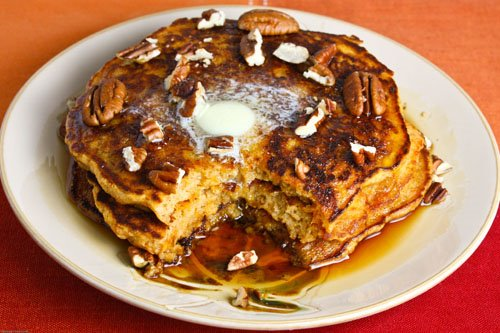 Sweet Potato Pie Pancakes