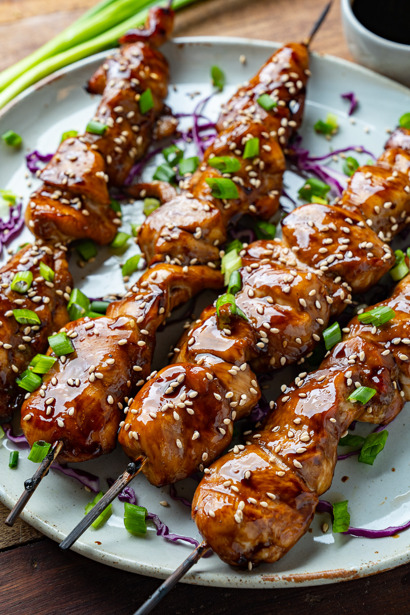 Yakitori (Japanese Grilled Chicken Skewers)