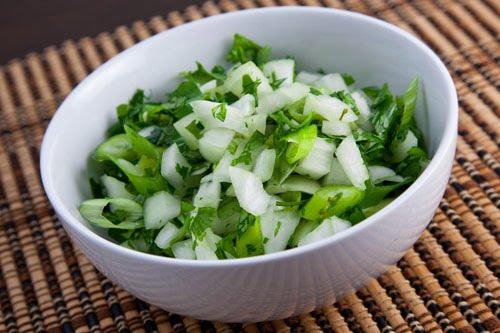 Onion And Cilantro Relish Closet Cooking