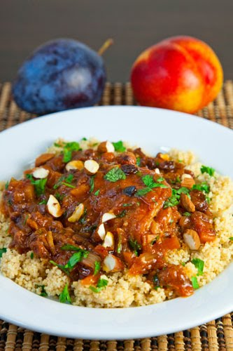 Moroccan nectarine and plum chicken tagine closet cooking moroccan nectarine and plum chicken tagine forumfinder Images