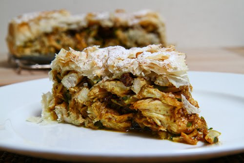 Chicken and Date Pastilla