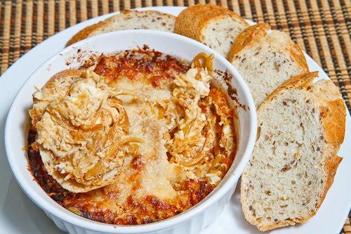 Hot Caramelized Onion Dip Recipe