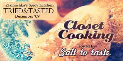 Tried And Tasted: Closet Cooking