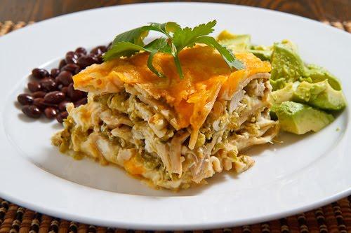 Salsa Verde Lasagna