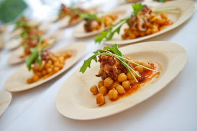 Octopus with Chorizo Chickpeas