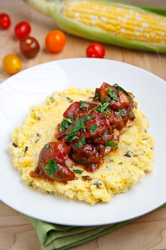 Chicken with Tomato Pan Sauce