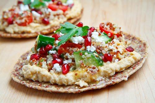 Quinoa Flatbread