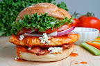 Buffalo Chicken Club Sandwich