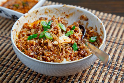Kongnamul Bap (Korean Beansprout Rice Bowl)