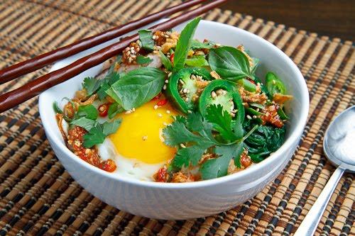 Sweet Chili Chicken Rice Bowl