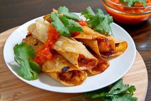 Crispy Shrimp Tacos