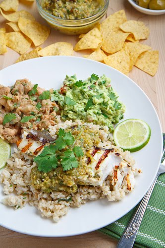 Cilantro Lime Grilled Halibut