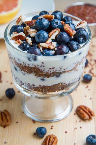 Blueberry Quinoa Parfait