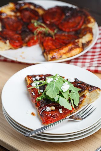 Slow Roasted Tomato Tatin