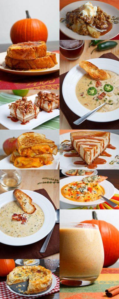 Fall Recipe Collage