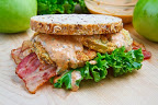 Fried Green Tomato BLT with Remoulade