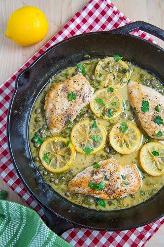 Chicken Piccata Closet Cooking