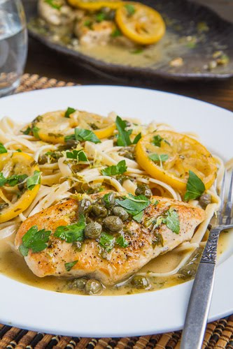 Chicken Piccata Closet Cooking