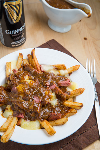 Guinness and Corned Beef Poutine