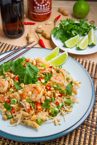 Spicy Peanut Pad Thai