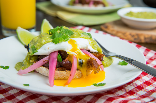 Carnitas Eggs Benedict