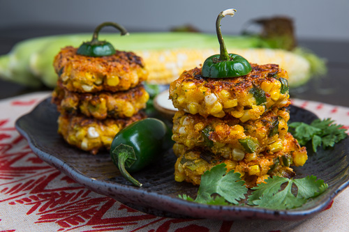 Jalapeno Popper Corn Fritters