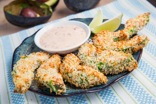 Crispy Baked Avocado Fries