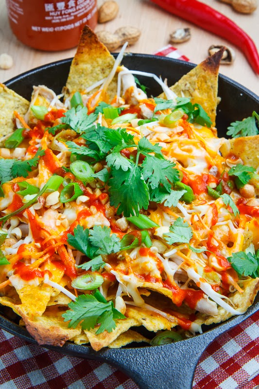 Chicken Pad Thai Nachos