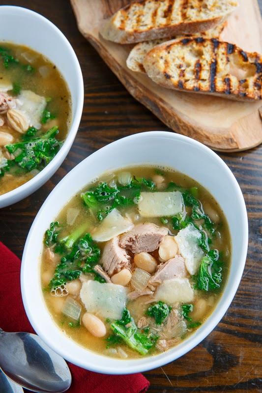 Tuna, White Bean and Kale Soup
