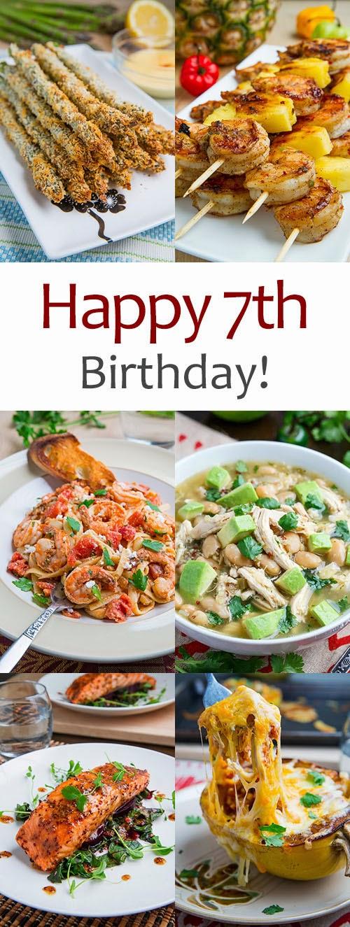 Happy 7th Birthday Closet Cooking