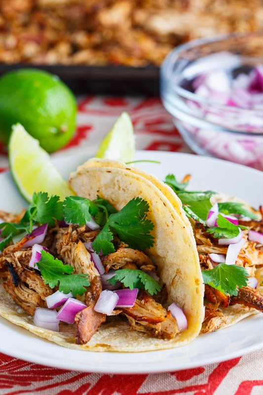 Slow Cooker Chicken Carnitas Tacos Closet Cooking