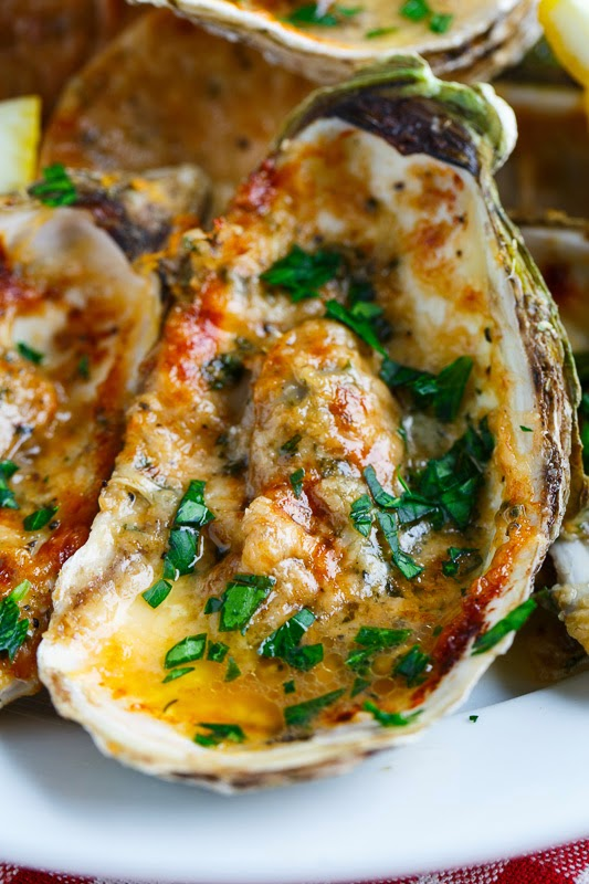 Chargrilled Oysters | Grilled Seafood Recipes For Your Next Seafood Feast | Mixed Seafood Grill Recipes