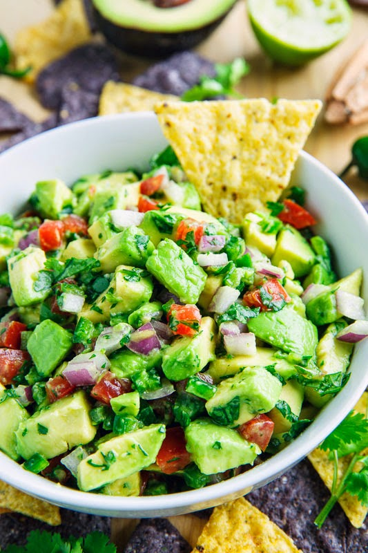 Avocado Salsa | Homemade Salsa Recipes | Homemade Recipes