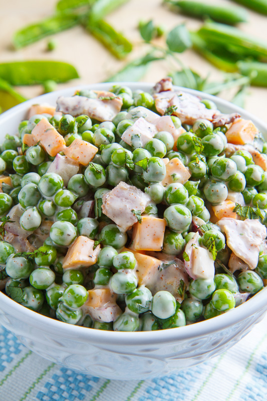 Fresh Pea Salad