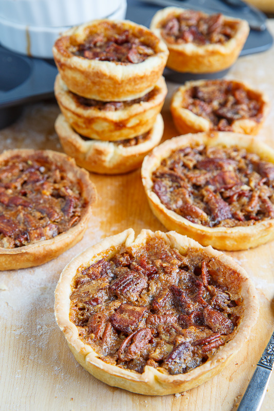 Maple Bourbon Bacon and Pecan Butter Tarts