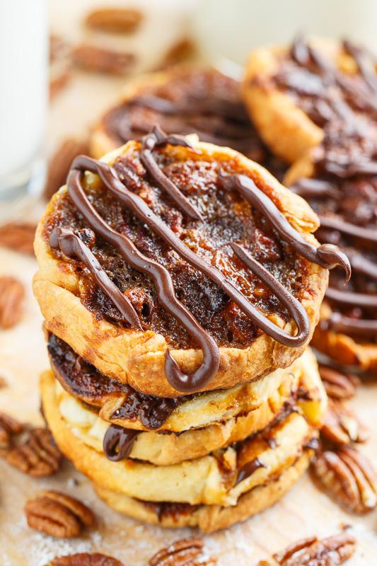 Chocolate Pecan Pie Cookies