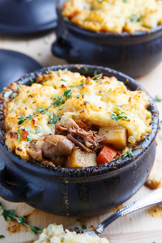 Steak And Guinness Stew With Irish White Cheddar Cauliflower Mash Closet Cooking