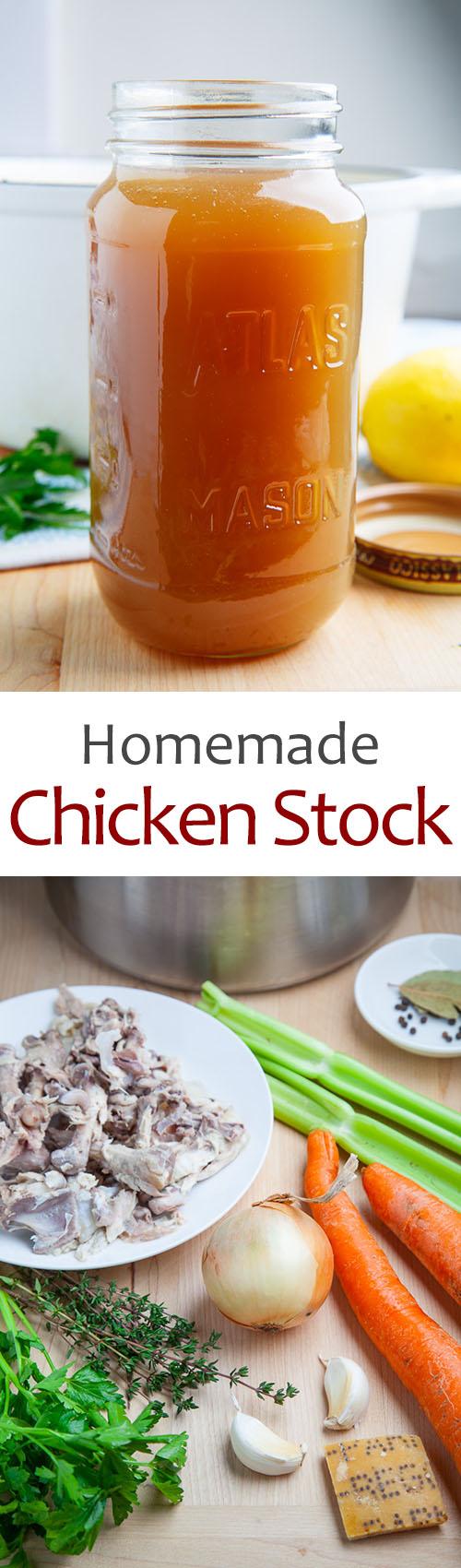 Easy Homemade Chicken Stock