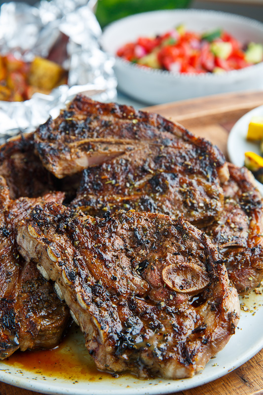 Greek Style Grilled Lamb Chops