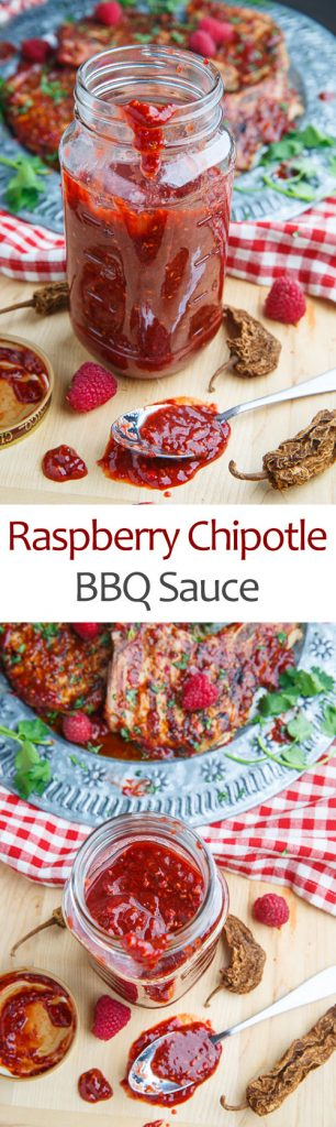 Raspberry Balsamic Chipotle BBQ Sauce