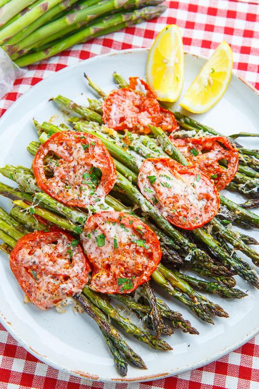 Tuscan Roast Asparagus