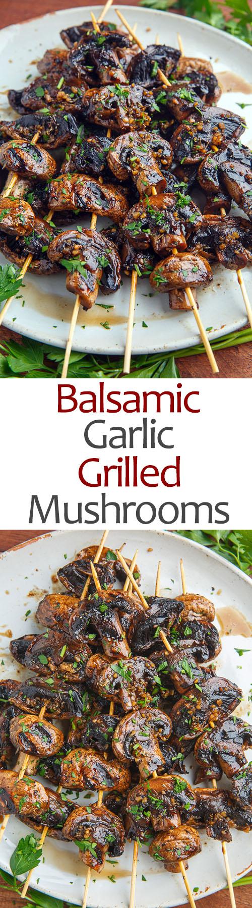 mediterranean diet mushroom skewers