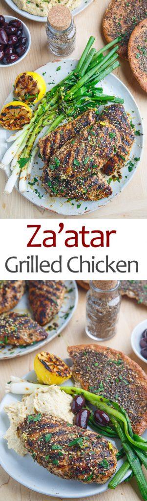 Za'atar Grilled Chicken