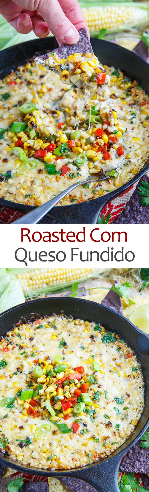 Roasted Corn Queso Fundido