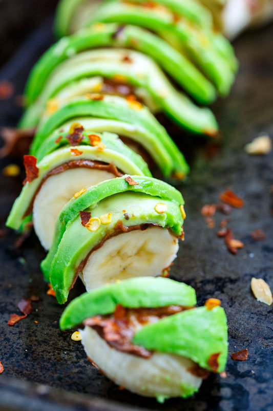 Avocado Banana Sushi