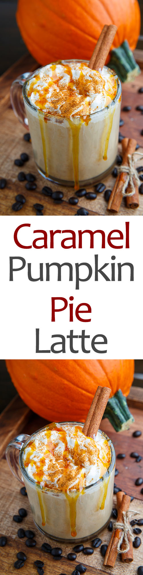 Caramel Pumpkin Pie Latte