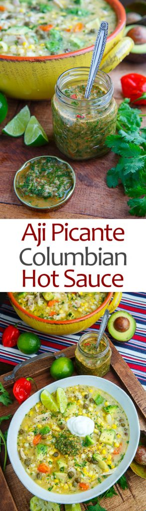 Colombian Hot Sauce (Aji Picante)