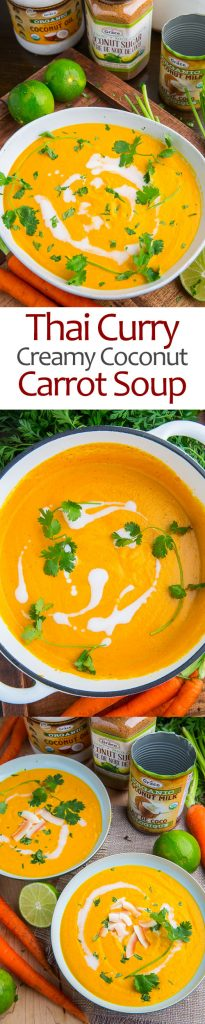 Creamy Curried Coconut Carrot Soup